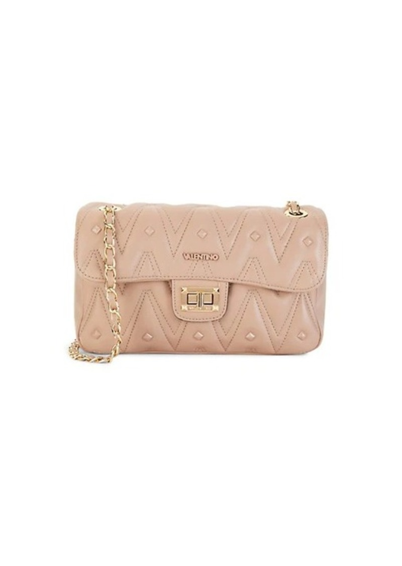 Valentino by Mario Valentino Linda Studded Quilted Shoulder Bag