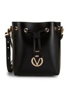 Valentino by Mario Valentino Logo Leather Bucket Bag
