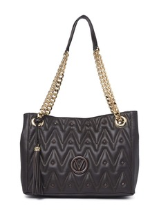 Valentino by Mario Valentino Luisa D Patterned Quilt Tote