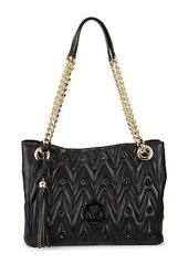 Valentino by Mario Valentino Luisa Studded Leather Shoulder Bag