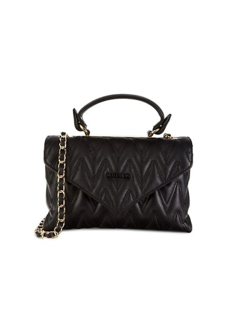 Valentino by Mario Valentino Lynn D Quilted Leather Shoulder Bag