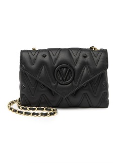 Valentino by Mario Valentino Lynn Quilted & Studded Leather Shoulder Bag
