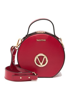 Valentino by Mario Valentino Marion Soave Leather Circle Crossbody Bag