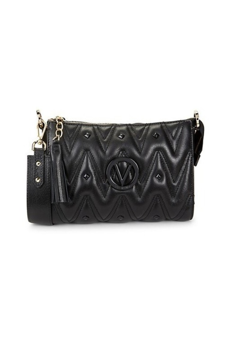 Valentino by Mario Valentino Marlene Studded Leather Shoulder Bag