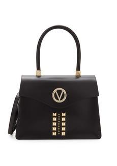 Valentino by Mario Valentino Melanie Studded Leather Satchel
