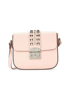 Valentino by Mario Valentino Melodie Pal Studded Leather Crossbody