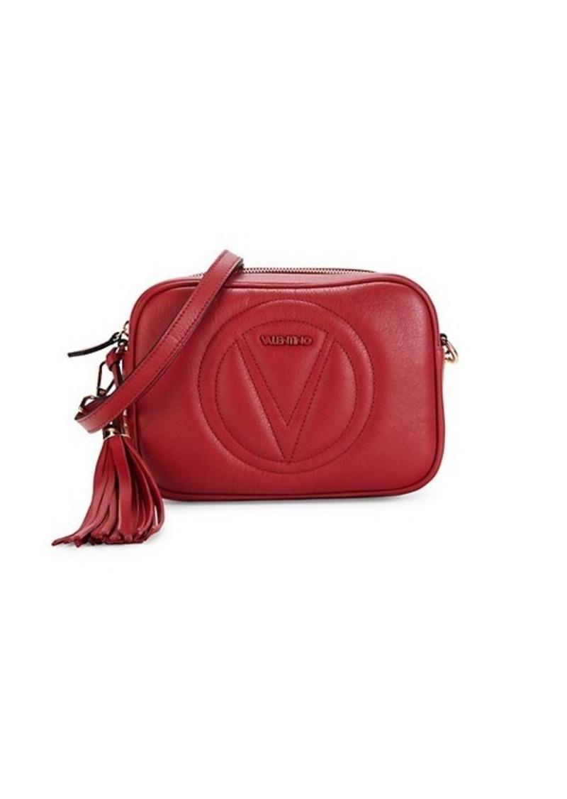 Valentino by Mario Valentino Mia Leather Camera Bag