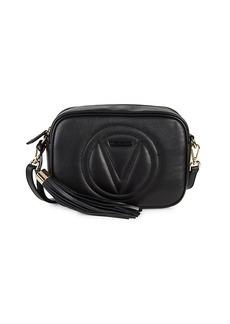 Valentino by Mario Valentino Mia Logo Leather Camera Bag
