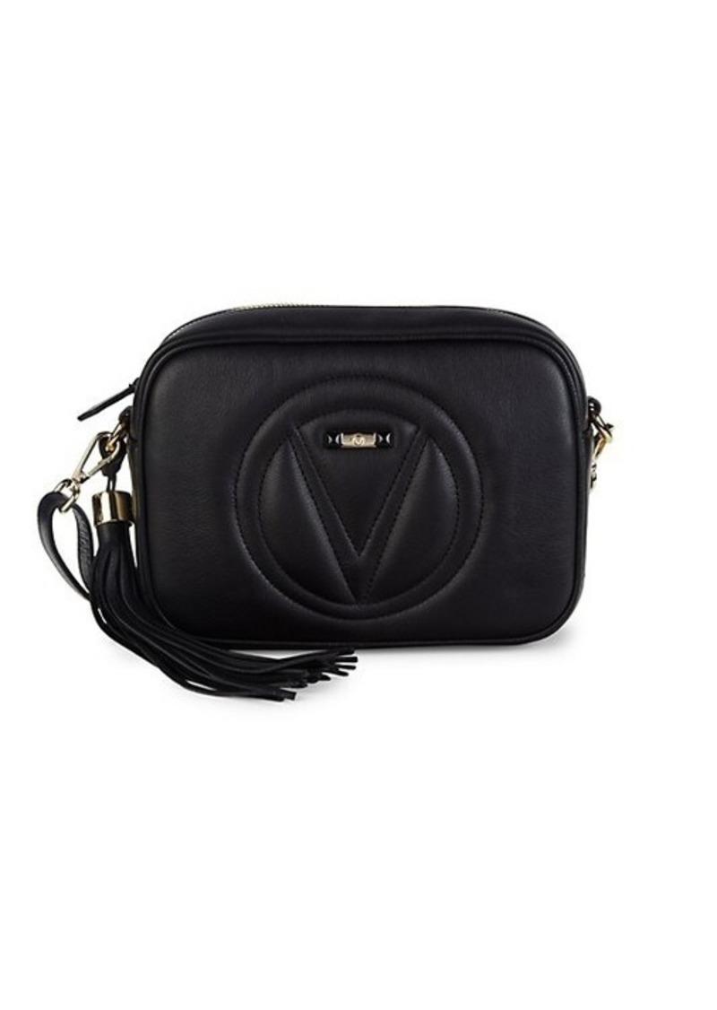 Valentino by Mario Valentino Mia Logo Leather Crossbody Bag