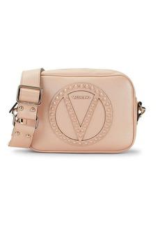 Valentino by Mario Valentino Mia Rock Dollaro Studded Leather Crossbody Bag
