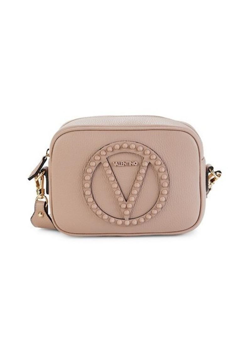 Valentino by Mario Valentino Mia Rockstud Leather Crossbody Bag