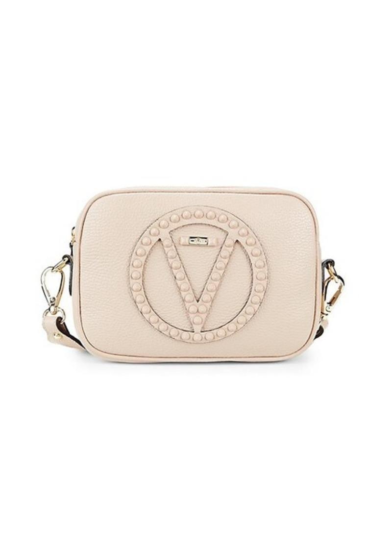 Valentino by Mario Valentino Mia Studded Leather Camera Bag