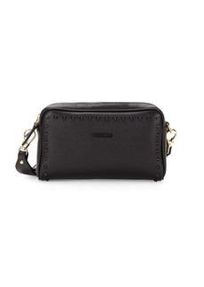 Valentino by Mario Valentino Mila Studded Leather Crossbody Bag