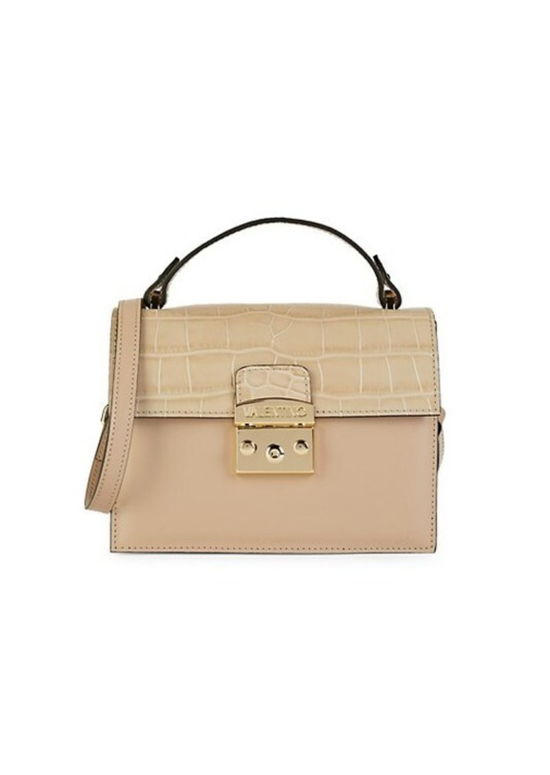 Valentino by Mario Valentino Mini Lisette Leather Crossbody Bag