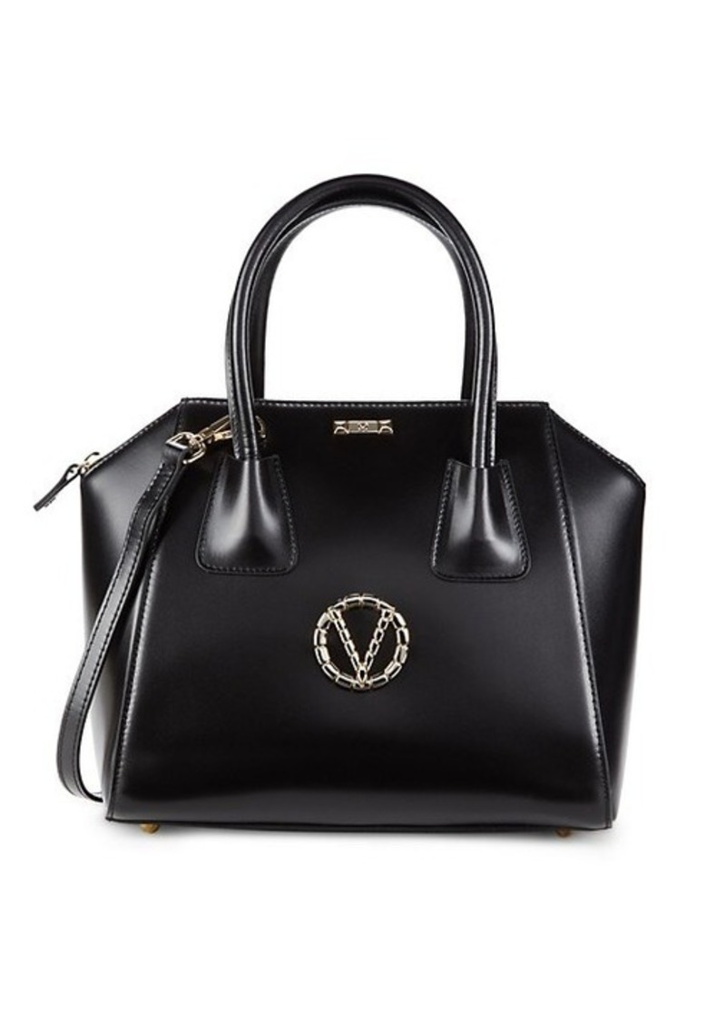 Valentino by Mario Valentino Minimi Leather Top Handle Bag