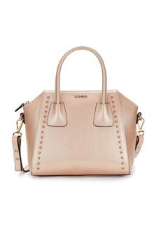 Valentino by Mario Valentino Minimi Preciosa Studded Leather Shoulder Bag