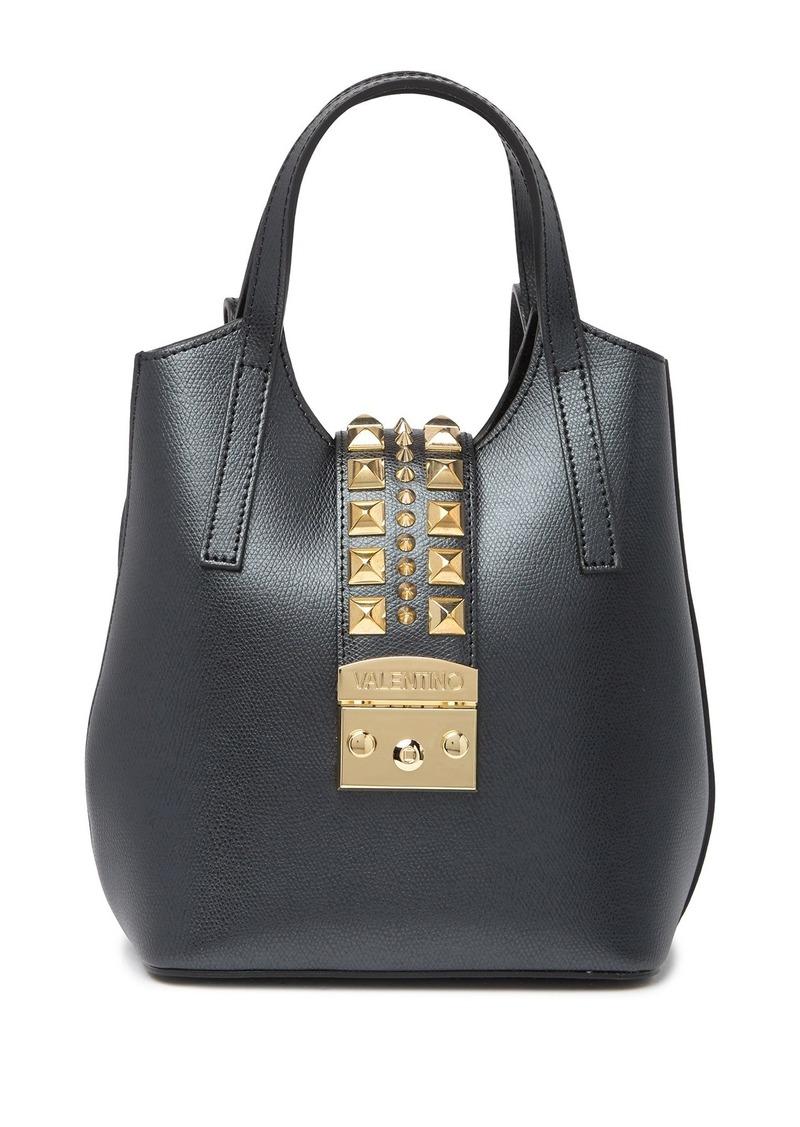 Valentino by Mario Valentino Momo Palmellato Leather Mini Backpack