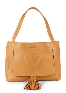 Valentino by Mario Valentino Olie Cutout Leather Shoulder Bag