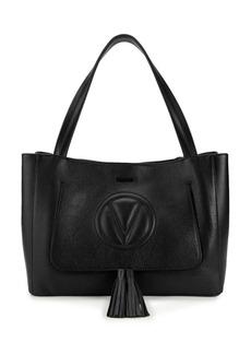 Valentino by Mario Valentino Ollie Leather Tassel Tote