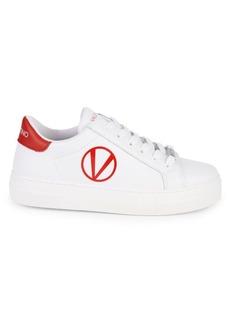 Valentino by Mario Valentino Petra Leather Sneakers