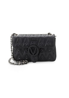 Valentino by Mario Valentino Poison Studded Leather Crossbody Bag