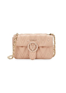 Valentino by Mario Valentino Poisson Studded & Quilted Leather Crossbody Bag