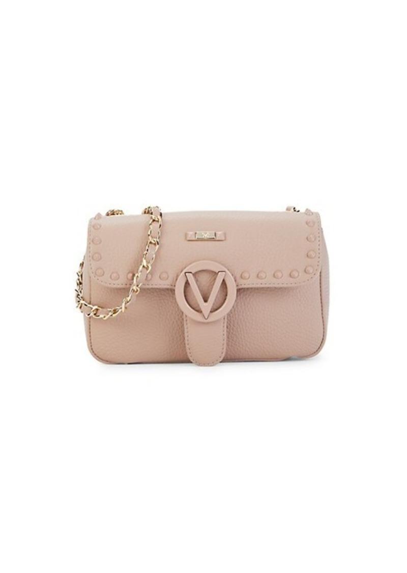 Valentino by Mario Valentino Poisson Studded Leather Crossbody Bag