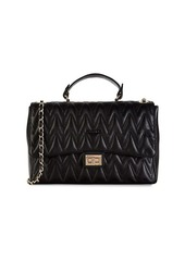 Valentino by Mario Valentino Posh D Chevron-Quilted Leather Shoulder Bag