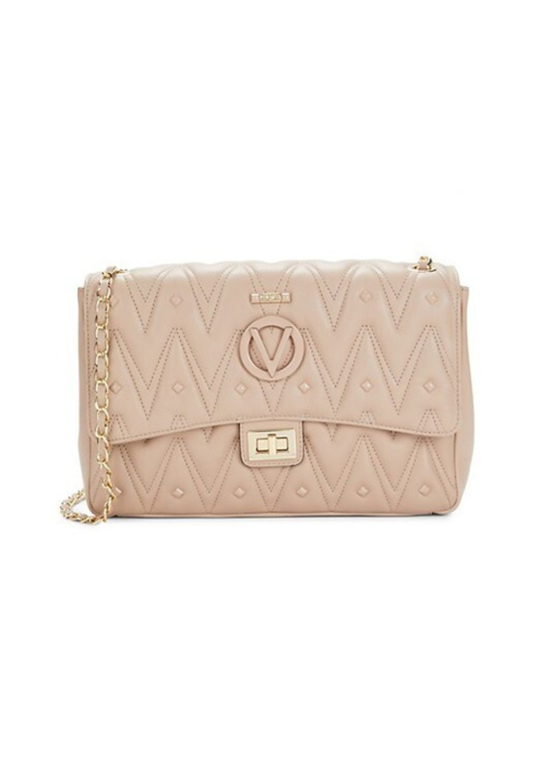Valentino by Mario Valentino Posh D Quilted Leather Shoulder Bag