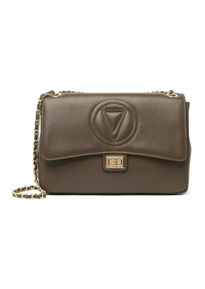 Valentino by Mario Valentino Posh Signature Leather Crossbody Bag