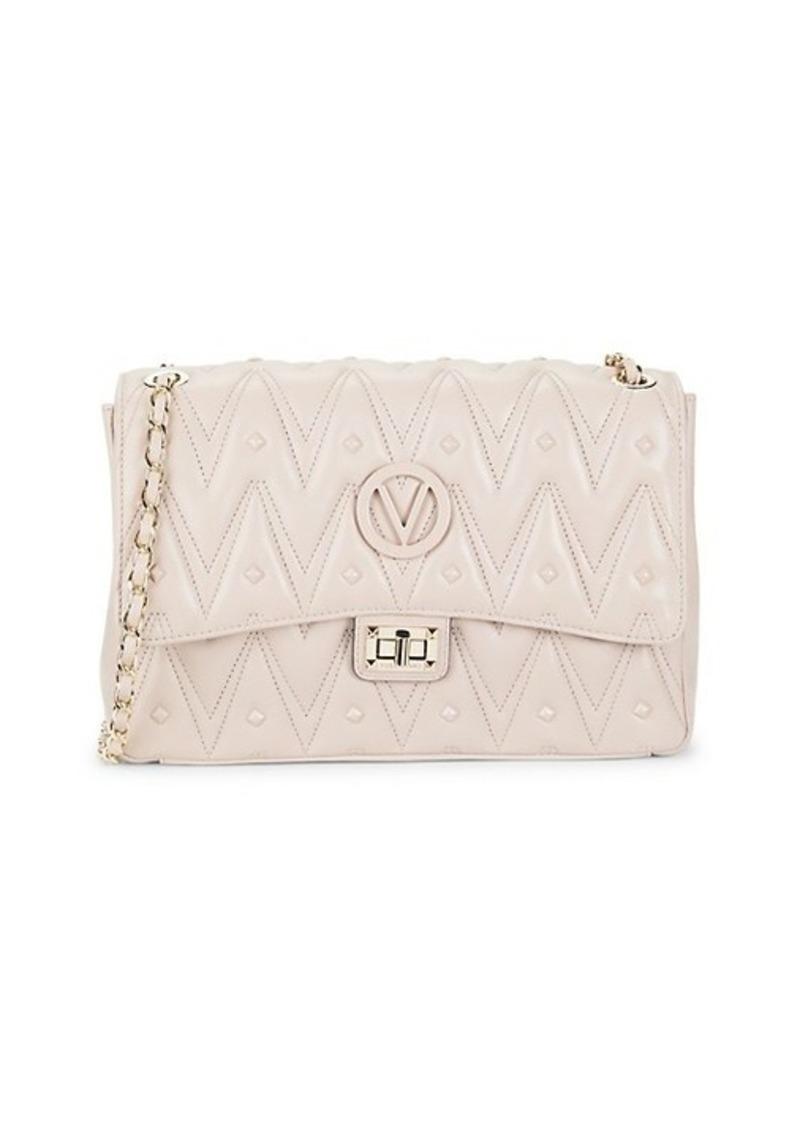 Valentino by Mario Valentino Posh Studded Leather Shoulder Bag
