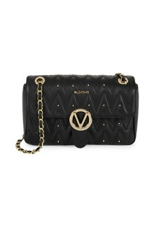 Valentino by Mario Valentino Quilted Leather Crossbody Bag