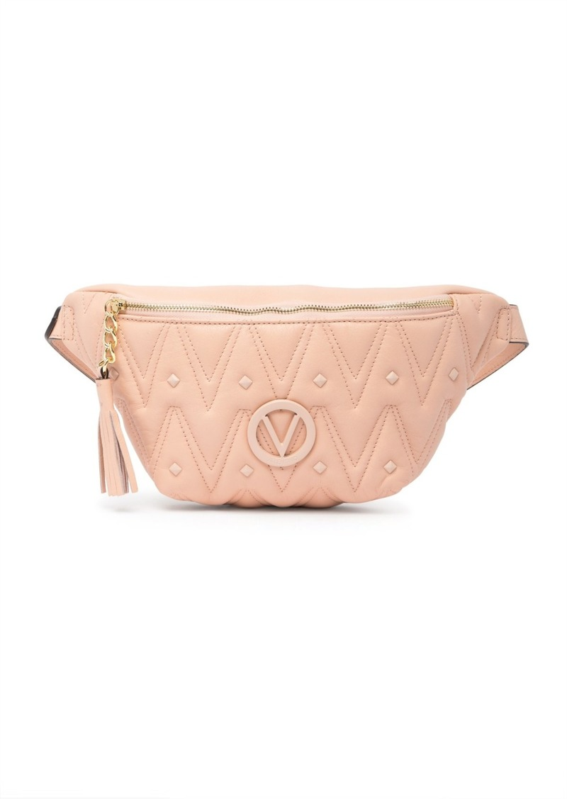 Valentino by Mario Valentino Roi D Quilted Leather Belt Bag
