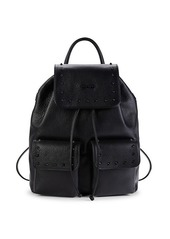 Valentino by Mario Valentino Simeon Leather Backpack