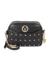 Valentino by Mario Valentino Studded Leather Crossbody Bag