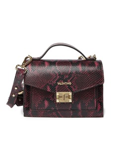 Valentino by Mario Valentino Titti Python Leather Crossbody Bag