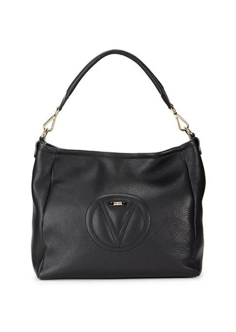 Valentino by Mario Valentino Valerie Leather Shoulder Bag
