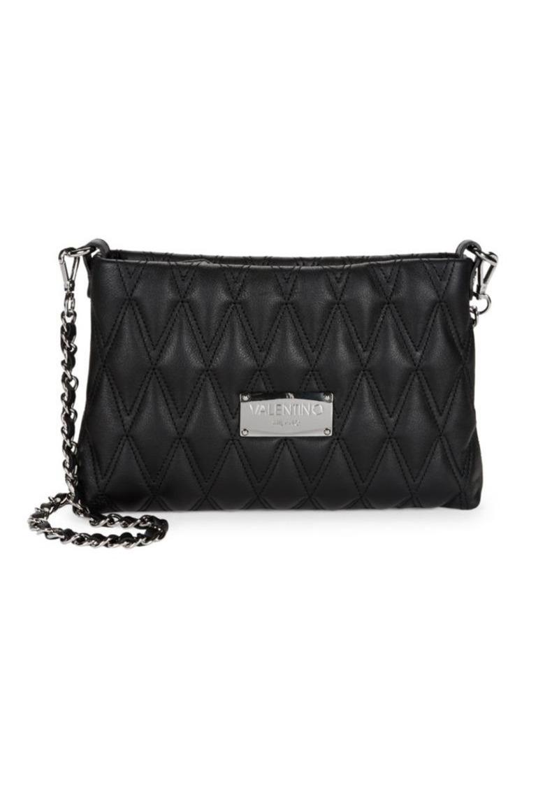 5b3b87c85bf00 Valentino by Mario Valentino Vaniled Diamond Quilted Crossbody Bag ...