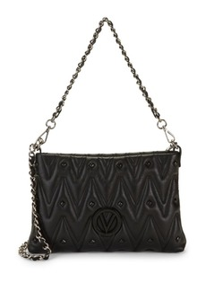 Valentino by Mario Valentino Vanille D Sauvage Studded & Quilted Crossbody Bag