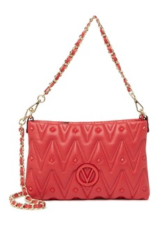 Valentino by Mario Valentino Vanille Quilted Leather Crossbody Bag
