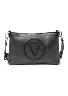 Valentino by Mario Valentino Vanille Rock Studded Leather Crossbody Bag