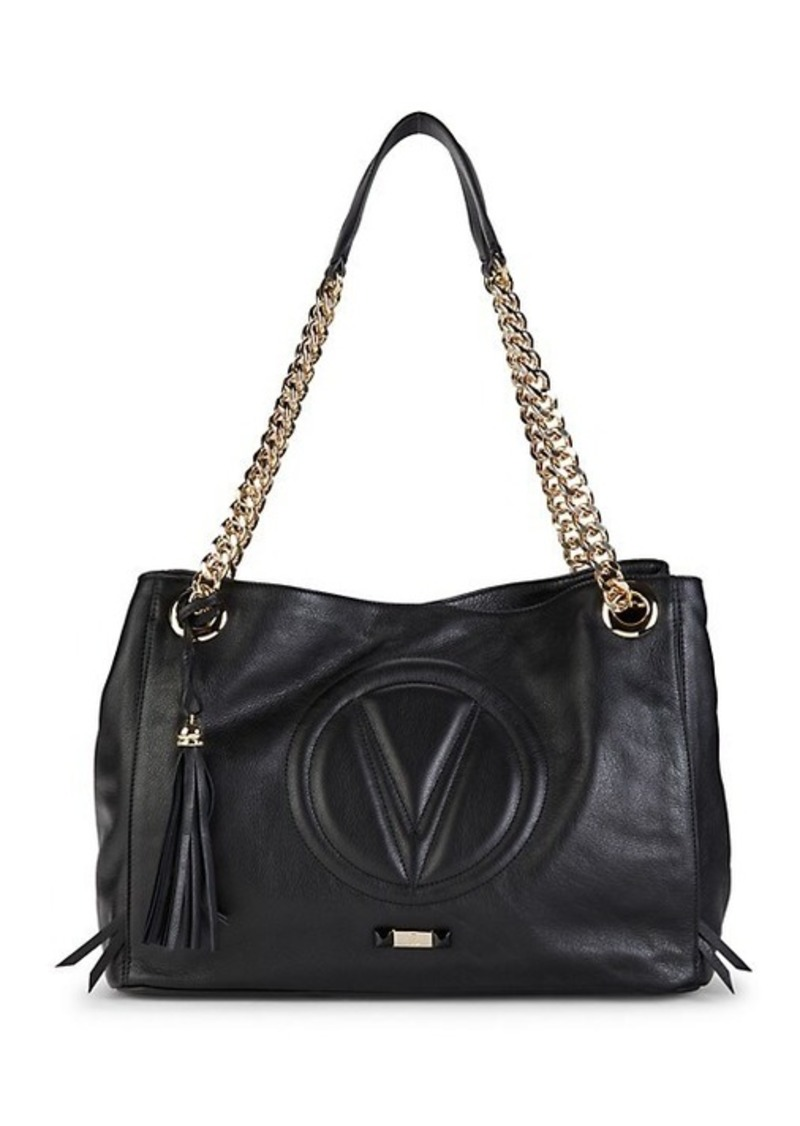 Valentino by Mario Valentino Verra Quilted Logo Leather Tote