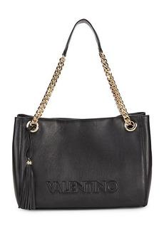 Valentino by Mario Valentino Verra Tassel Chain Leather Tote