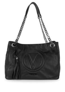 Valentino by Mario Valentino Versa Chain Leather Shoulder Bag