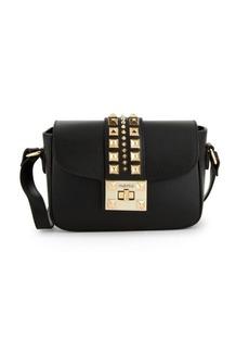 Valentino by Mario Valentino Yasmine Rockstud Leather Crossbody Bag