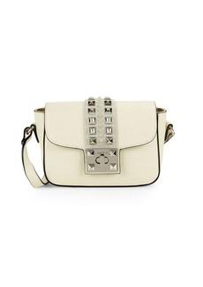 Valentino by Mario Valentino Yasmine Studded Leather Crossbody Bag