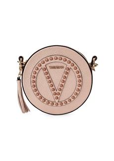 Valentino by Mario Valentino Yuki Rock Dollaro Studded Circle Leather Crossbody