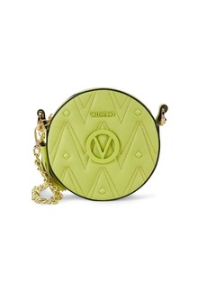 Valentino by Mario Valentino Yuki Sauvage Rockstud Leather Circle Crossbody Bag