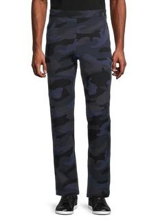 Valentino Camo-Print Drawstring Pants