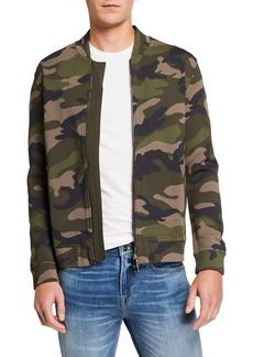 Valentino Camo Zip-Up Jacket